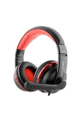 Ovleng Q13 Süper Bass Stereo Mikrofonlu Usb Kulak Üstü Kulaklık