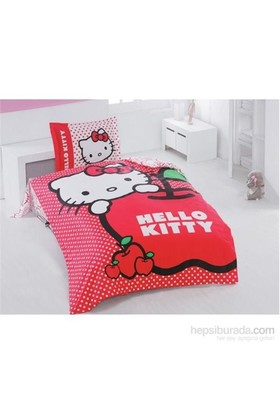 Hello Kitty Apple Nevresim Takımı