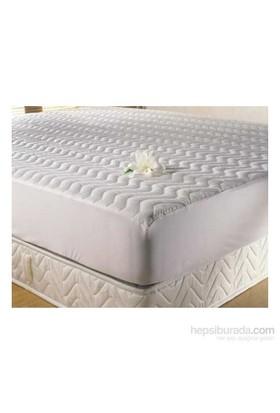 Deran Home Bebekler için Klasik Kapitone Fitted Bebek Yatağı Yatak Koruyucu Alez 70x140 cm