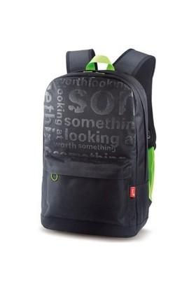 """Genıus Siyah-Yeşil 15,6"""" Notebook Sırt Çantası"""
