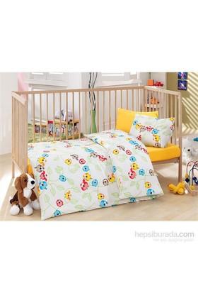Cotton Box Bebek Nevresim Takımı Cik Cik Sarı