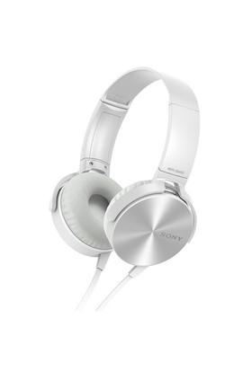 Sony MDR-XB450APW Kulaküstü Beyaz Kulaklık