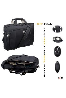 """PLM Bloomcase 15.6"""" Siyah Notebook Çantası"""