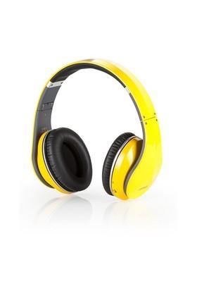 Sonorous Bluetooth Kulaküstü Sarı Kulaklık