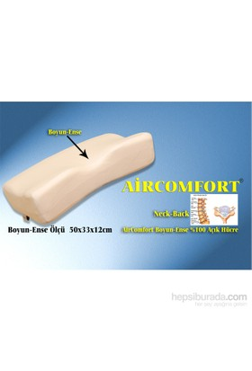 Aircomfort Neck-Back Visco Yastık