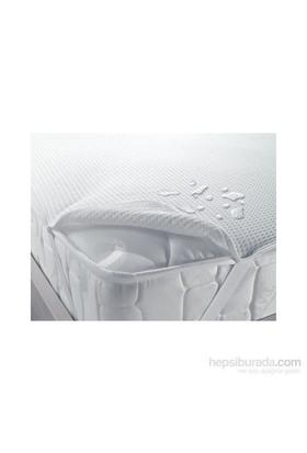 Deran Home Sıvı Geçirmez Tek Kişilik Yatak Koruyucu Alez 90X190 cm