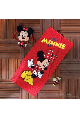 Disney Miss Minnie Plaj Havlusu
