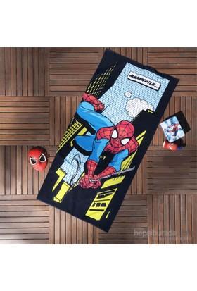Spiderman Comics Plaj Havlusu