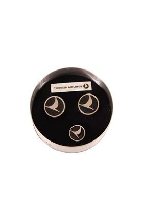 Tk Collection Kol Düğmesi Ve Rozet Seti
