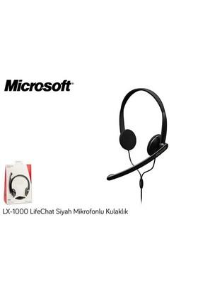Microsoft Lx-1000 Lifechat Siyah Mikrofonlu Kulaklık Jtd=00009