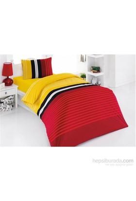 Kristal Genç Nevresim Takımı Sport Sarı - Kırmızı