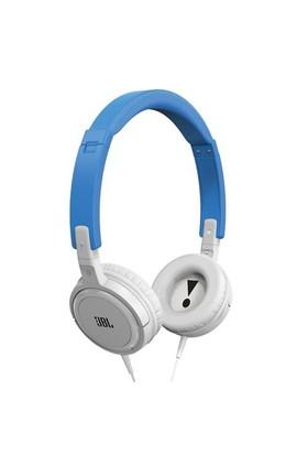 Jbl T300A, Mikrofonlu Kulaküstü Kulaklık Mavi/Beyaz