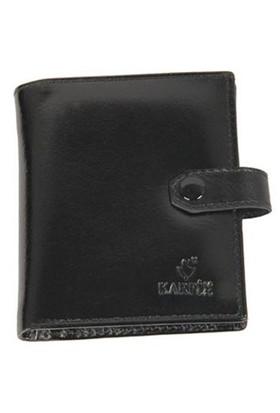 Karpix Deri Paralı Çıt Çıtlı Kredi Kartlık