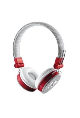 Trust Urbanrevolt 20073 Fyber Kulaküstü Kulaklık Gri/Kırmızı