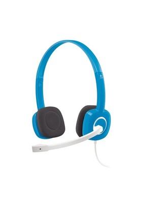 Logitech H150 Stereo Mavi Kulaklık