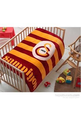 Taç Lisanslı Bebek Battaniyesi Galatasaray Şampiyon Baby
