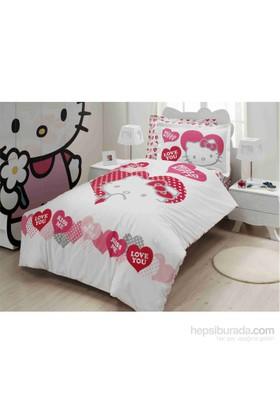 Hello Kitty Tek Kişilik Nevresim Takımı Valentino