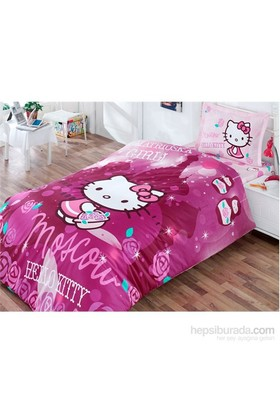 Hello Kitty Tek Kişilik Nevresim Takımı Moskow City