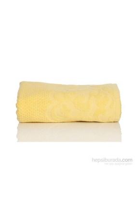 Yastıkminder Koton Sarı Petek Poku 50X80 Havlu