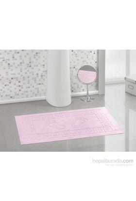 Varol Kaymaz Taban Banyo Paspası - Şekerpembe