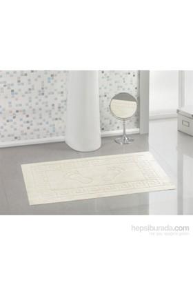 Varol Kaymaz Taban Banyo Paspası - Krem