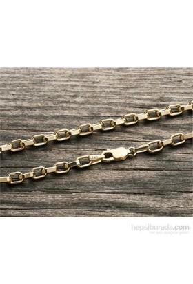 eJOYA 14 Ayar Altın Bileklik Zinciri Zn0080kdgm