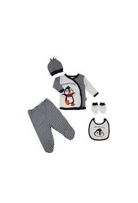 By Leyal For Kids 5'Li Penguen Aplikeli Takım