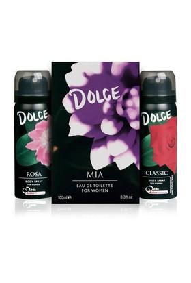 Dolce Mia Edt 100 ml Kadın Parfüm + Deodorant Set