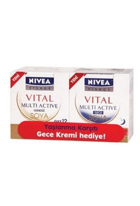 Nivea Visage Vital Soya Gündüz Krem + Gece Set