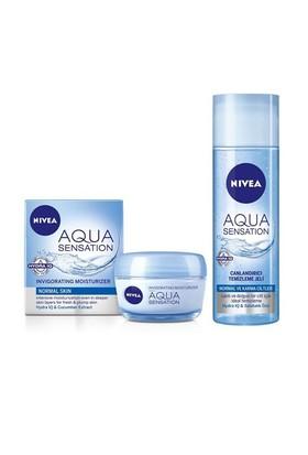 Nivea Visage Aqua Sensation Gündüz + Aqua Temizleme Jeli