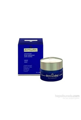 Dermoday Advanced 50Ml Blue Anemone Gece Kremi