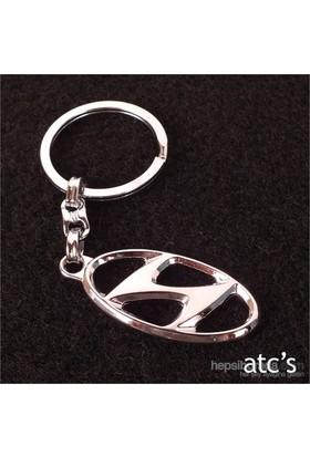 Acts Hyundai Metal 3D Anahtarlık 8081