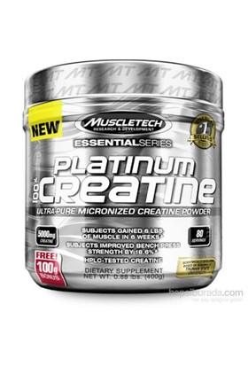 Muscletech Essential Series Platinum %100 Creatine 400 gr