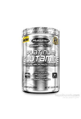 Muscletech Essential Series Platinum %100 Glutamine 300 gr