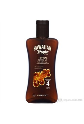 Hawaiian Tropic Yağ Spf 4 200 Ml