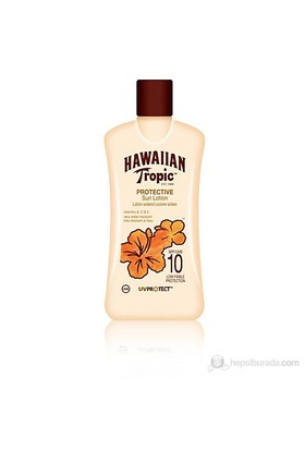 Hawaiian Tropic Protective Sun Lotion Spf 10 200 Ml