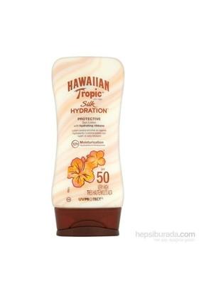 Hawaiian Tropic Lotion Silk Hydration Spf50 180Ml