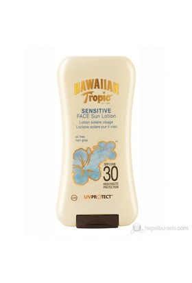 Hawaiian Tropic Sensitive Face Lotion Spf30 120Ml
