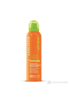 Lancaster Sun Sport Invisible Mist Wet Skin Application Progressive Tan Spf 50 125 Ml
