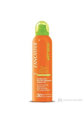 Lancaster Sun Sport Invisible Mist Wet Skin Application Sublime Tan Spf 30 200 Ml