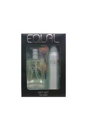 Equal Men 75 Ml Edt + 150Ml Deodorant - Erkek Parfüm Set