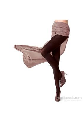 Pierre Cardin Microfiber Orta Kalın Külotlu Çorap Metis Kadın Kakao