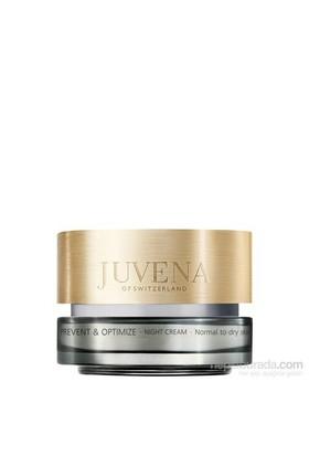 Juvena Prevent Optimize Night Cream 50 Ml Kuru Cilt