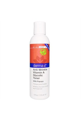 Derma E Anti-Wrinkle Vitamin A Glycolic Cleanser W