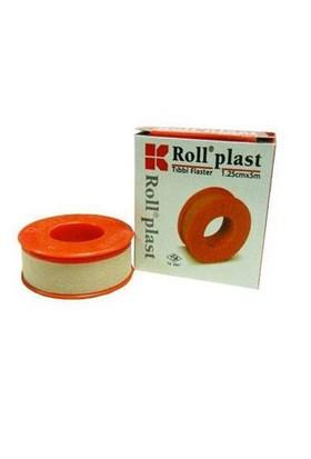 Roll Plast Tıbbi Flaster 1,25 Cm X 5 M
