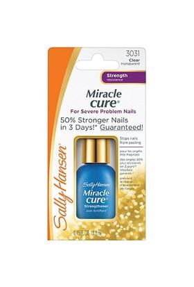 Sally Hansen Miracle Cure / 3031 Soyulmaları Dondu