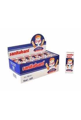 Sanitabant Yara Bandı 19X72 Mm 10X30 Adet