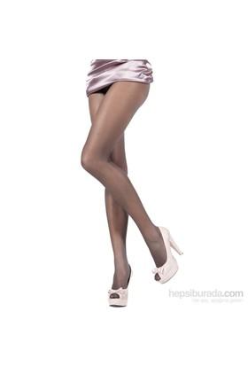 Pierre Cardin Yarı Parlak Tanga Dantel Külotlu Çorap Hera Antrasit