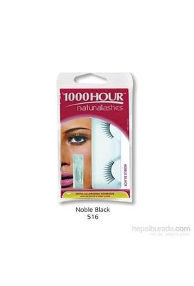 1000 Hour Doğal Takma Kirpik - Noble Black