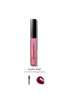 Bobbi Brown High Shimmer Lip Gloss Black Ruby